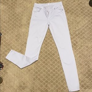 7 for all Mankind - skinny jean - very light blue